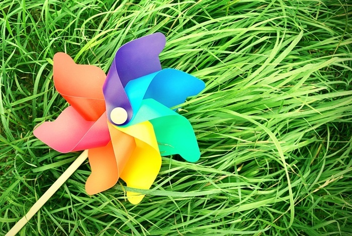 The Blog of a Bluegrass Belle: Pinwheels for Prevention Pinwheel garden to raise awareness for child abuse and Pinwheels for Prevention