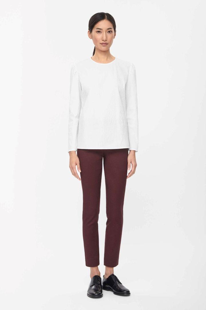 COS | Slim cotton trousers