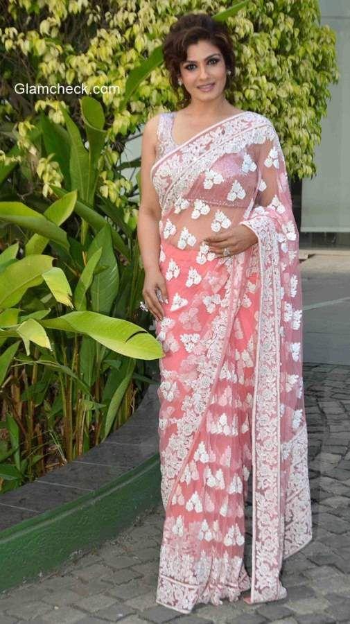 Raveena Tandon in Manish Malhotra Saree