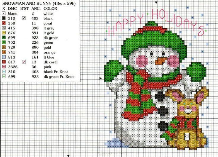 >christmas - cross stitch patterns -1 / yeni yıl - çarpı işi şablonları -1