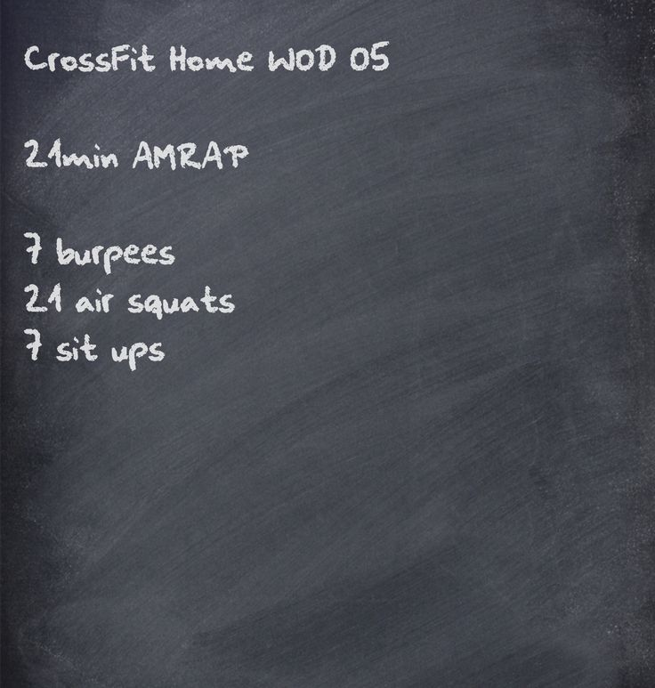 CrossFit home WOD - @Kelly Teske Goldsworthy Dooner this would be a good way to  get our squats done