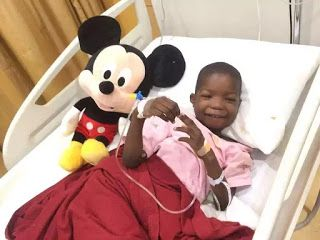 Update! Little boy attacked by Boko Haram strong and doing well - Doctors (photo)