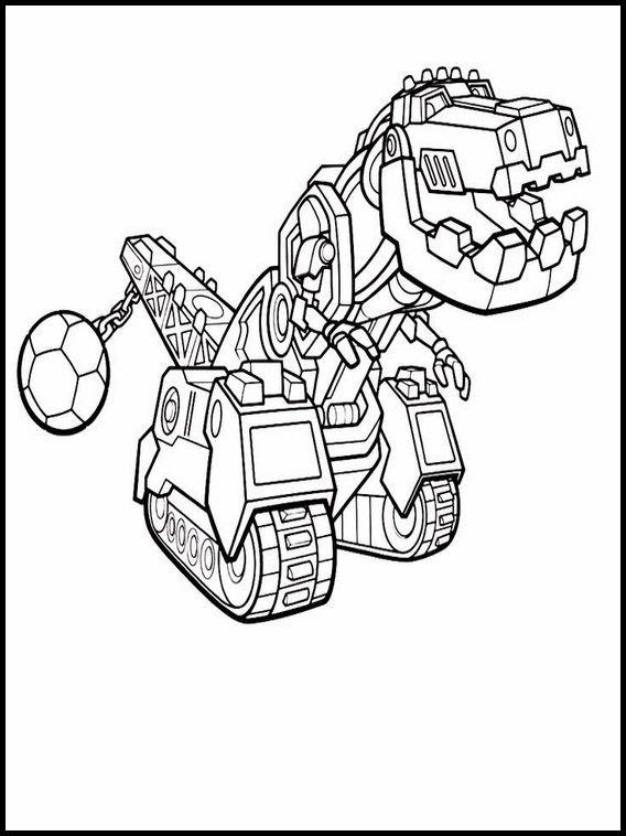 Dinotrux Ausmalbilder Zum Ausdrucken