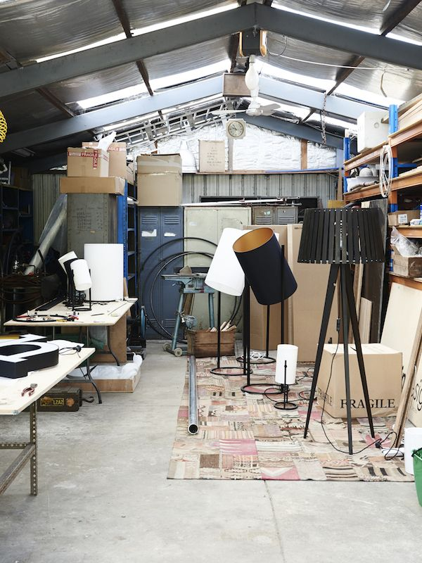 Melbourne lighting designer Daniel Giffin. Photo – Eve Wilson for thedesignfiles.net