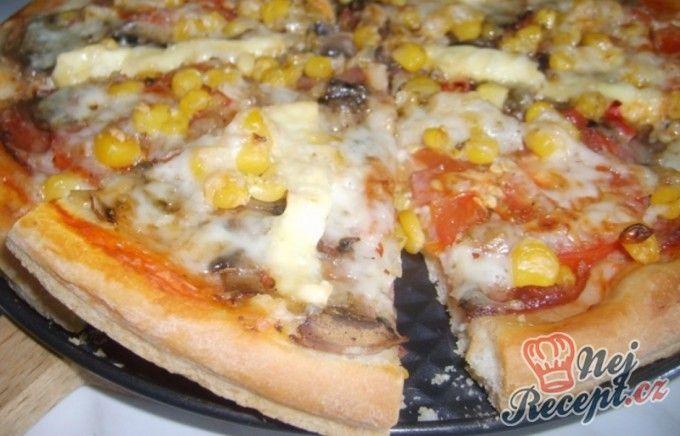 Hrnkový recept na pizza těsto