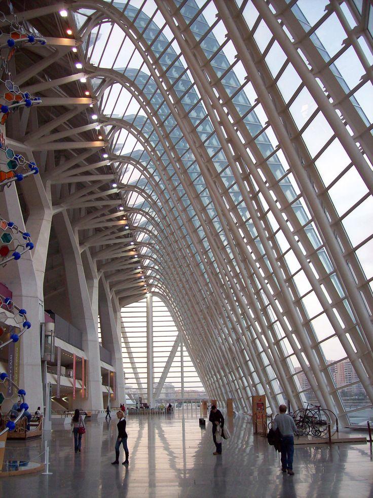 Palau de las Ciencias (Arch. Santiago Calatrava) - Valencia