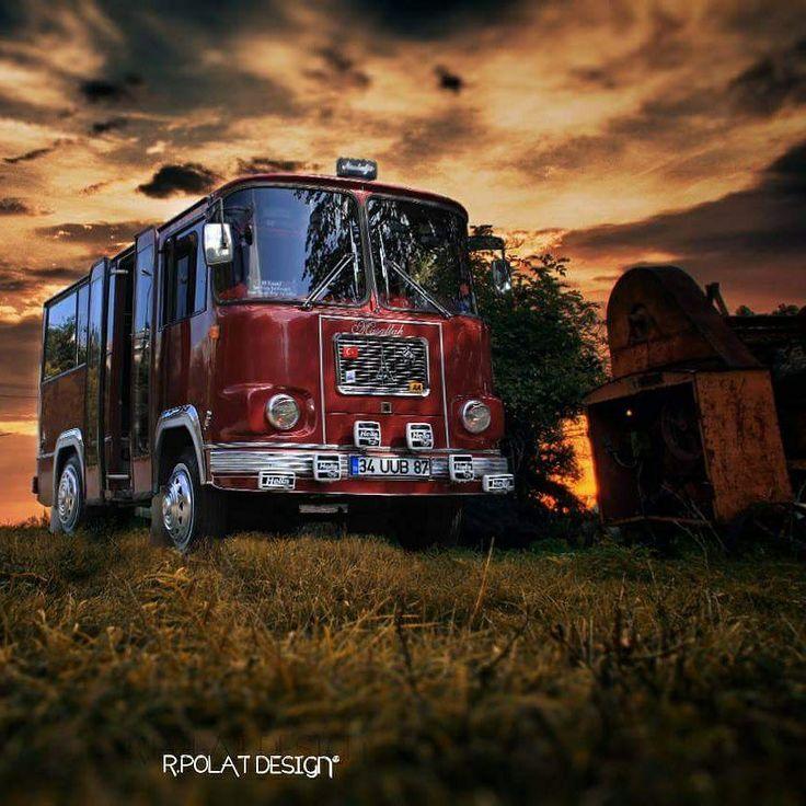 Magirus 1977 Deutz  #bus #vintage #retro #vagon #classiccar #red #day #daily #photo #art #design #old #instagood #instagram