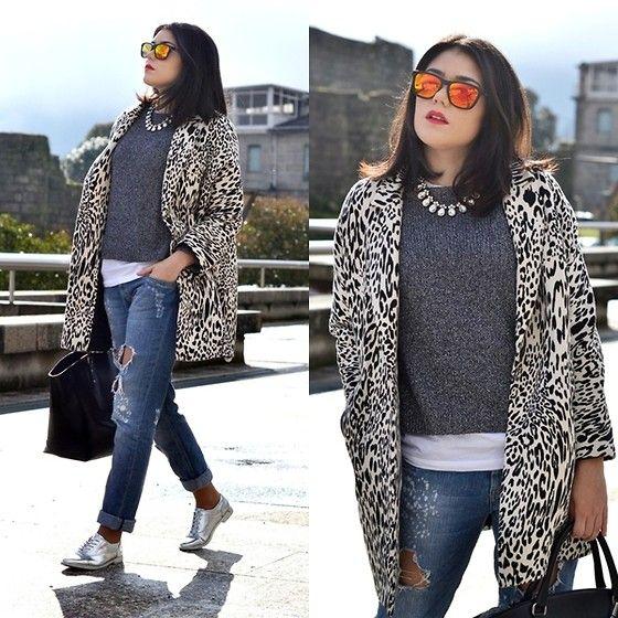 Zara Coat, Pimkie Pants, Primark Shoes