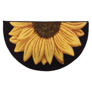 Better Homes and Gardens Sunflower Kitchen Rug This will be great at my back door