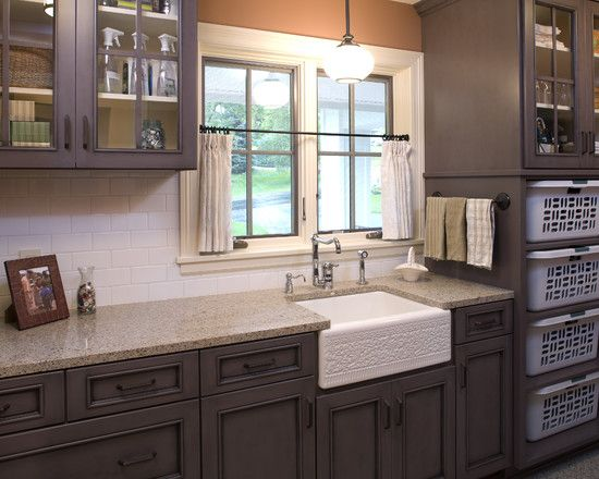 Laundry Room Design, Pictures, Remodel, Decor and Ideas: Laundryrooms, Bathroom Design, Idea, Baskets Storage, Cabinets Colors, Sinks, Laundry Rooms Design, Laundry Baskets, Baskets Shelves