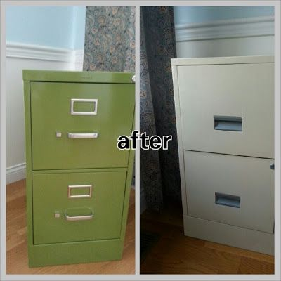 file file cabinet filing cabinet project painted painting metal lads. Black Bedroom Furniture Sets. Home Design Ideas