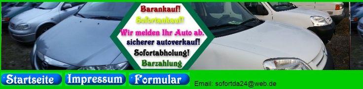 Wir kaufen Fahrzeuge alle Marken, Auch Unfallwagen! Sie möchten Ihr Gebrauchtwa…