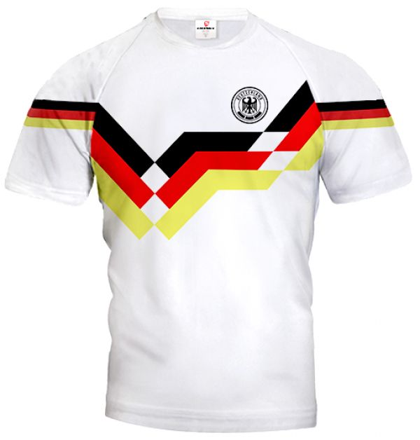 GERMANY 1990 Football Jersey With Custom Name and Number