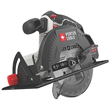 Image of Porter Cables 6-1/2 in. cordless circular saw.