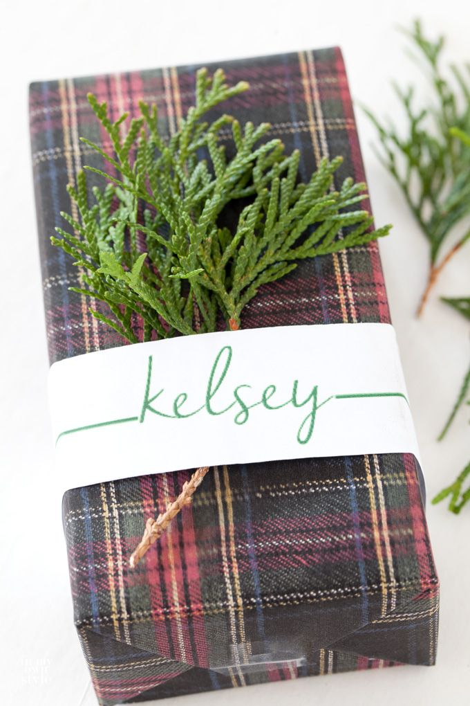 You only have 1 or 2 small gifts to wrap and you just ran out of wrapping paper. Use this last minute Christmas gift wrapping idea without having to buy more gift wrap.