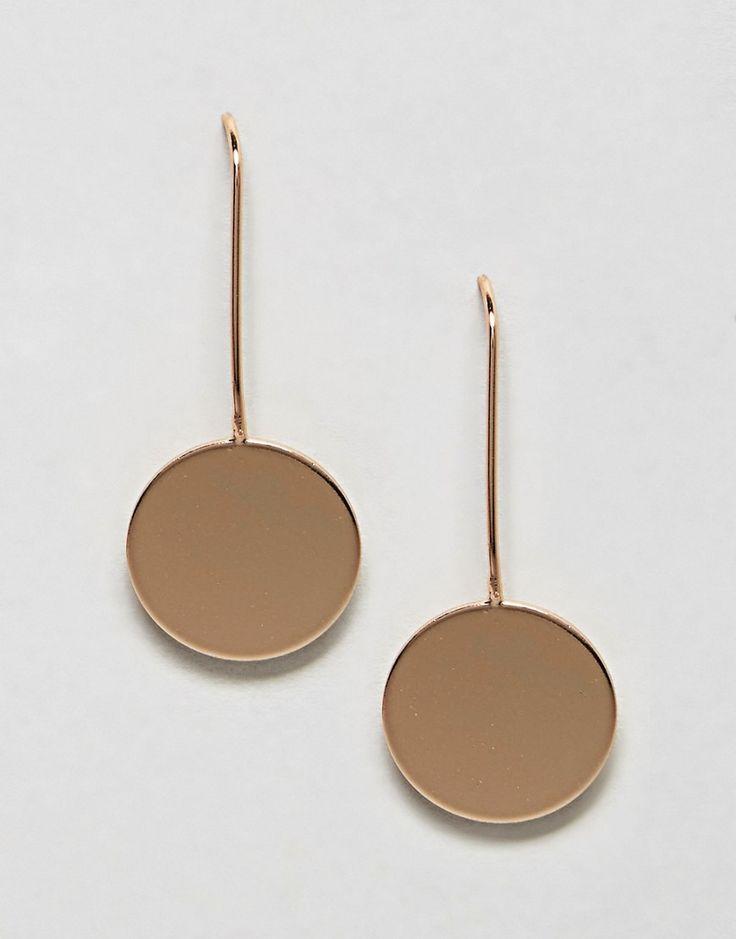 Nylon - Ohrringe mit rundem Anhänger - Gold Jetzt bestellen unter: https://mode.ladendirekt.de/damen/schmuck/ohrringe/ohrhaenger/?uid=51db25a0-4406-5a86-967e-fb9e4bb6b418&utm_source=pinterest&utm_medium=pin&utm_campaign=boards #schmuck #sale #ohrhaenger #ohrringe #uhren #female