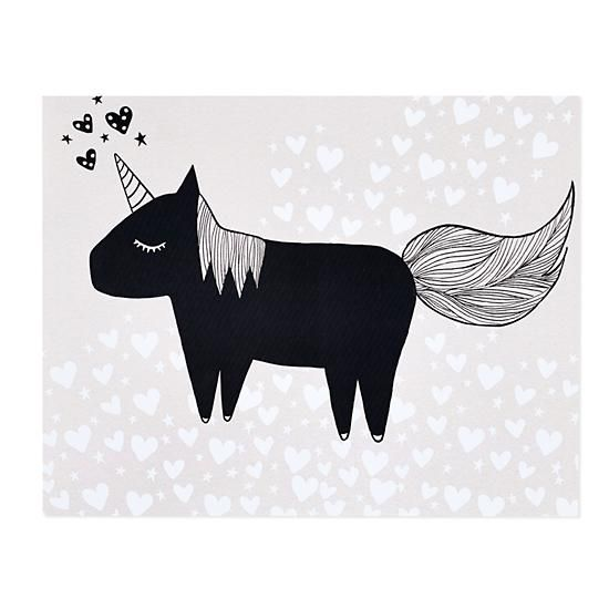 """""""Unicorn Unicorn"""" by ashley g at The Land of Nod... a very cute but not majestic at all little guy IMO : )"""
