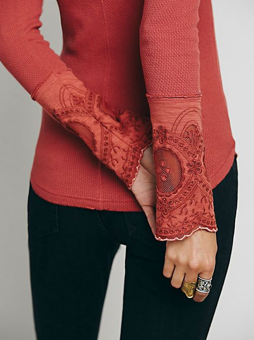 Women's Henley Shirts & Thermal Tops for Women at Free People