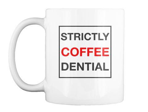Strictly Coffee Dential Mug #5 White Mug Front