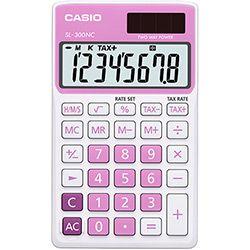Calculadora Básica 8 Dígitos SL-300NC Rosa - Casio