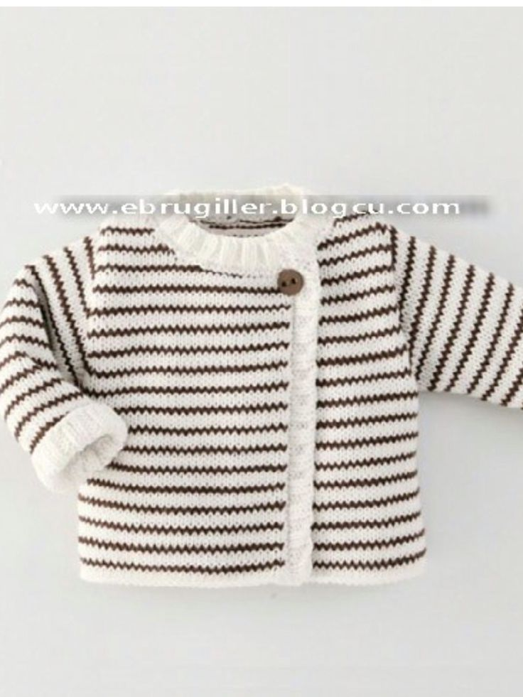 "Çeket [   ""Ide til Grete"",   ""Simple cardigan with stripes"" ] #<br/> # #Winter #Sweaters,<br/> # #Baby #Sweaters,<br/> # #Baby #Knitting,<br/> # #Baby #Knits,<br/> # #Knitting #Patterns,<br/> # #Layette,<br/> # #Knitted #Baby #Cardigan,<br/> # #Baby #Jumper,<br/> # #Sweater #Cardigan<br/>"