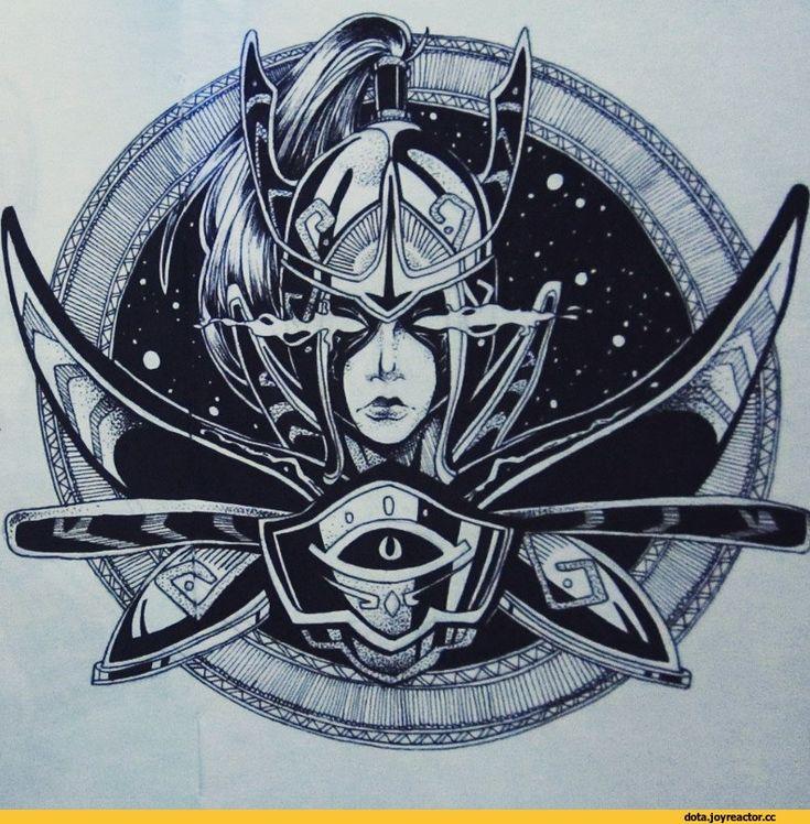 r > 1 Ht-,Dota 2,фэндомы,сделал сам,нарисовал сам, сфоткал сам, написал сам,Mortred the Phantom Assassin,arcane,Dota Art,N.Adekvatius,песочница