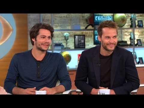 """Dylan O'Brien and Taylor Kitsch talk """"American Assassin"""" - YouTube"""