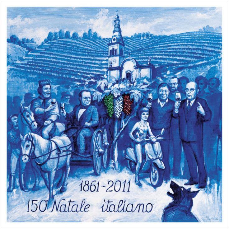Natale 2011.  Il 150° Natale italiano di Mario Antonetti.