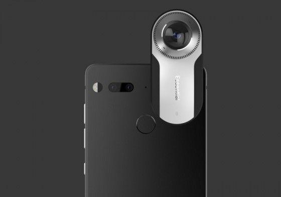Android'in kurucularından Andy Rubin, bir süredir üzerinde çalıştığı Essential Phone isimli telefonunu gözler önüne çıkardı. Android işletim sistemli akıllı telefonun dikkat çeken...   https://havari.co/essential-360-derece-kamerasiyla-moduler-aksesuar-ekosisteminin-temelini-atiyor/