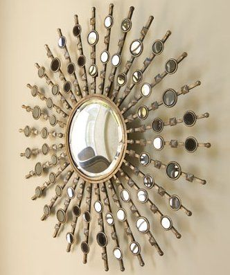 """Kimani Sunburst"" Mirror from Horchow"