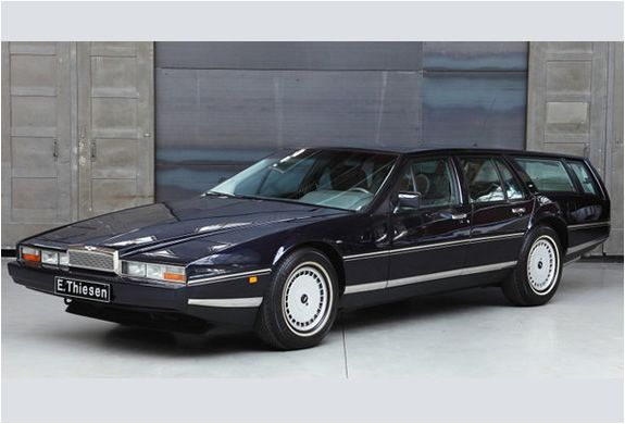 While I'm on a car kick, this totally re-tooled Aston Martin Lagonda wagon makes me happy. £169575.00