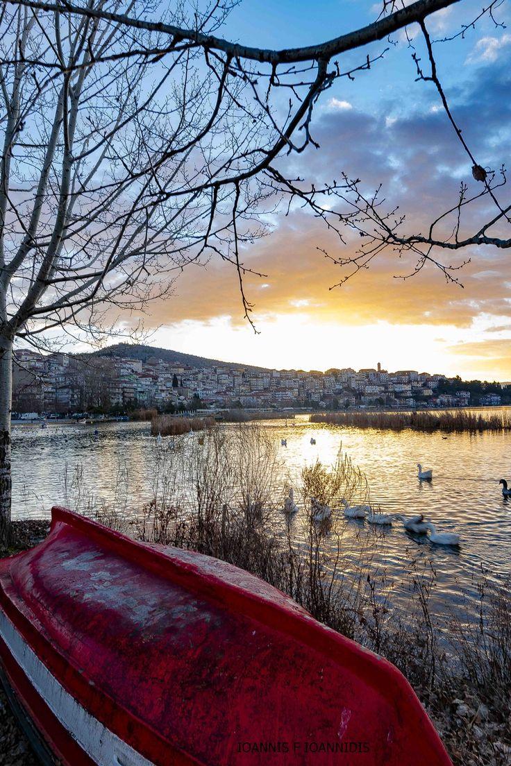 Lake Kastoria, Kastoria, Greece