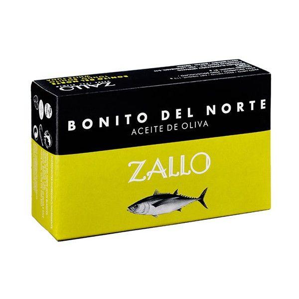Bonito del norte en aceite de oliva Zallo 120 gr.