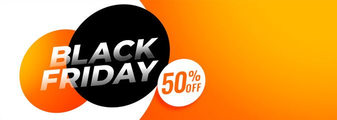 black friday offer and deals banner with text space , #Aff