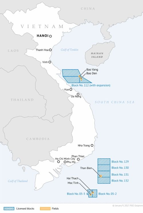 http://www.gazprom.com/preview/f/posts/63/322243/w500_map_vietnam_e2017-01-09.png Vietnam deemed one of Gazprom's key partners in Southeast Asia - http://www.energybrokers.co.uk/news/gazprom/vietnam-deemed-one-of-gazproms-key-partners-in-southeast-asia