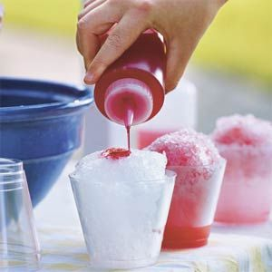 Snow Cone Syrup, better than the HFCS that you buy in the store.