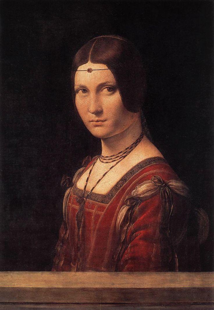 Leonardo da Vinci | La Belle Ferronière