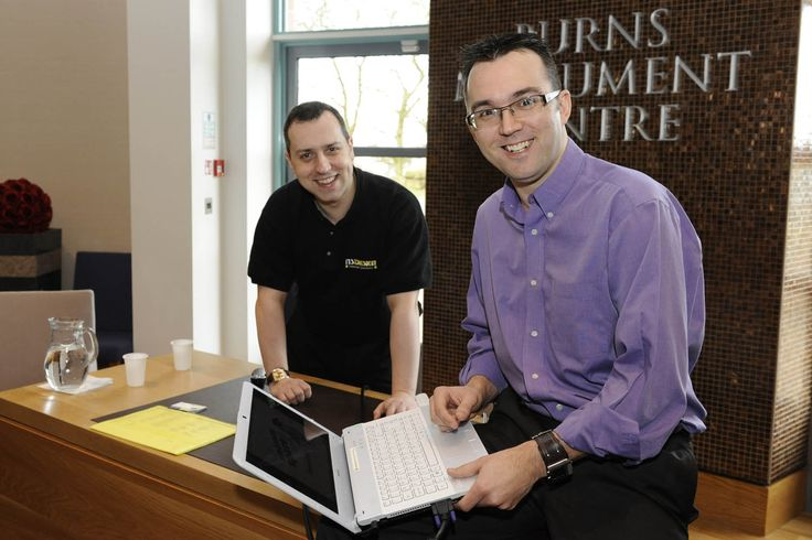Colin and Gary - Your hosts for Working Digital