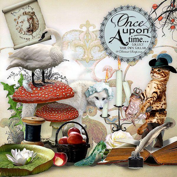 Once Upon A Time által Krysty Scrap Designs #digitalcollage #digital #art #photomanipulation #artjournaling #scrapbook #onceuponatime #fairytale