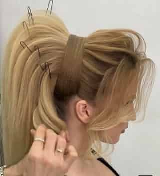 Eleganța și Modernismul unei coafuri pentru păr lung | Elegance and Modernism for a long hair
