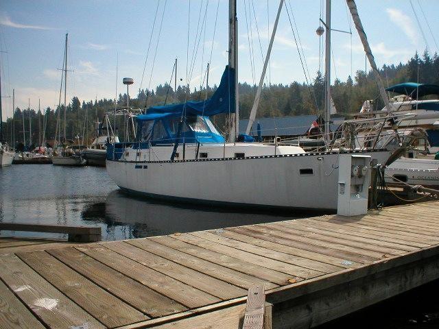 1980 Amor Marine BC Center cockpit cutter Sail Boat For Sale -