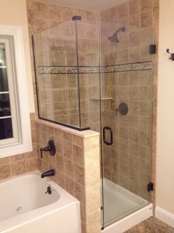 32 best frameless shower doors images on pinterest for Updating bathroom ideas