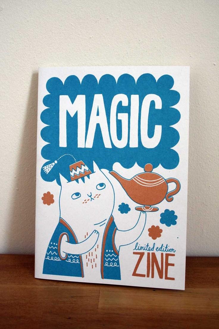 Magic zine. £6.00, via Etsy.