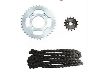 62.40$  Watch here  - For Lifan motorcycle LF100-5 / LF110-5 wholesale chain sprocket sets new accessories chain combinations