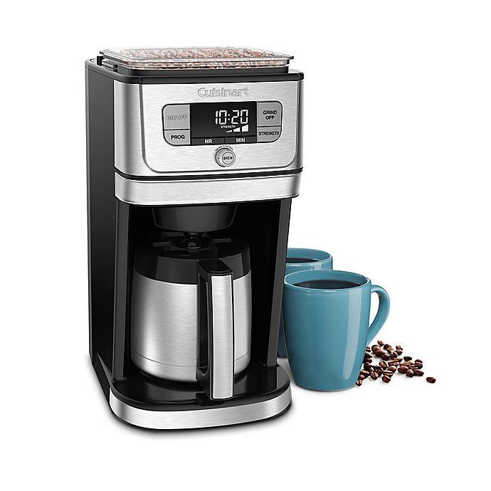 Cuisinart Grind N Brew 10 Cup Thermal Coffee Maker In 2020 Thermal Coffee Maker Coffee Maker Coffee