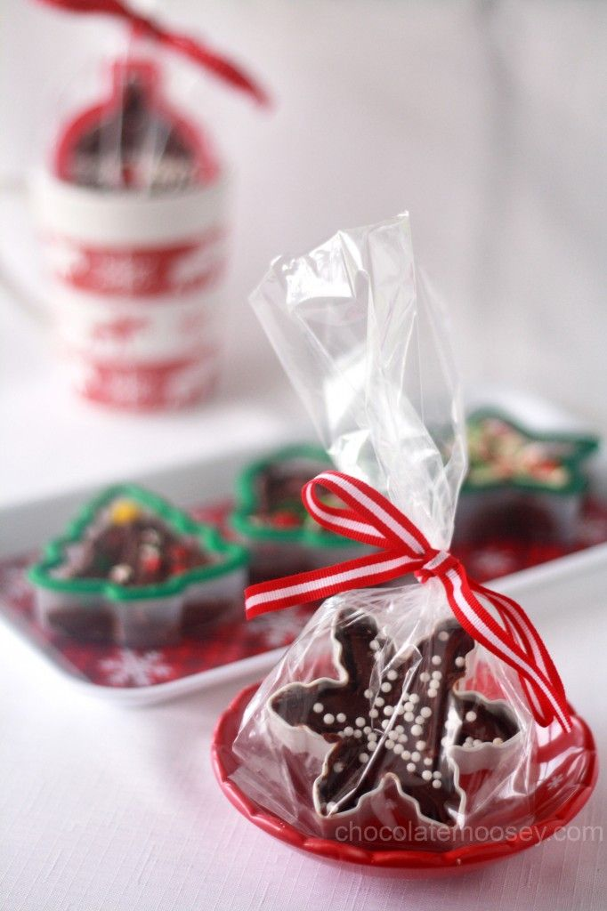 Cookie Cutter Fudge - such an easy and cheap yet thoughtful gift