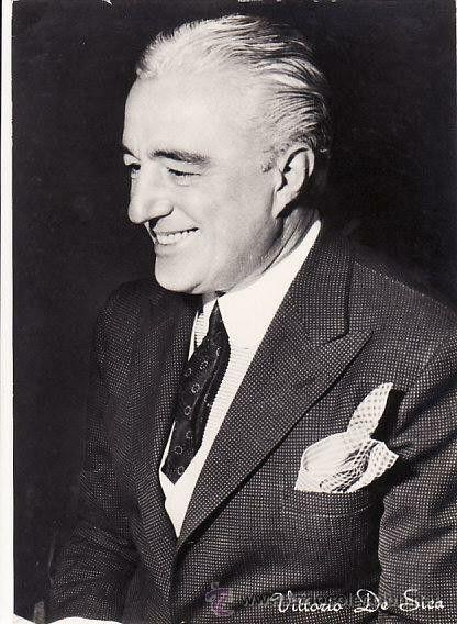 VITTORIO DE SICA actor y director 1901-1974