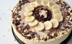 Chocolicious Banana Kwarktaart recept | Dr. Oetker