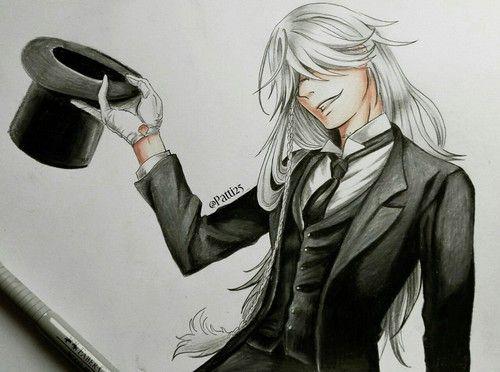 black butler, drawing, and kuroshitsuji de Naked Unicorns | We Heart It
