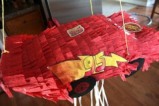 Things I Like To Make: Make Your Own Lightning McQueen Pinata